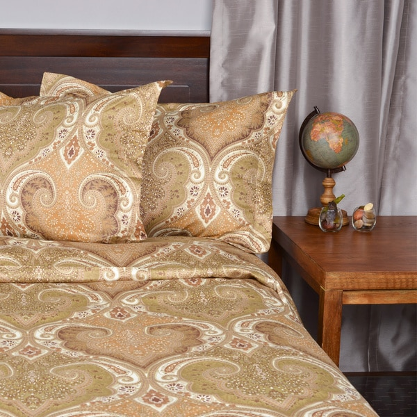 milano paisley cotton duvet cover set free shipping on orders over 45 overstockcom 14790556 - Milano Cover