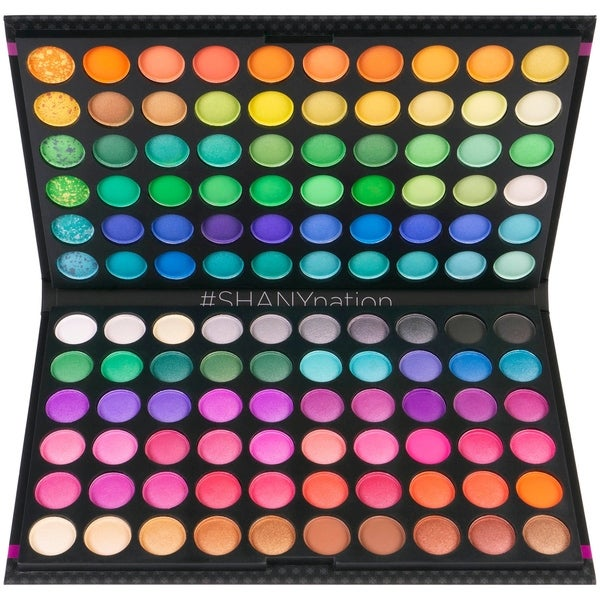 SHANY 120 Colors Eye shadow Palette, Bold and Bright Collection, Vivid. Opens flyout.