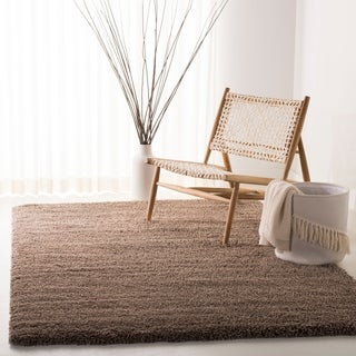 Safavieh California Cozy Plush Taupe Shag Rug