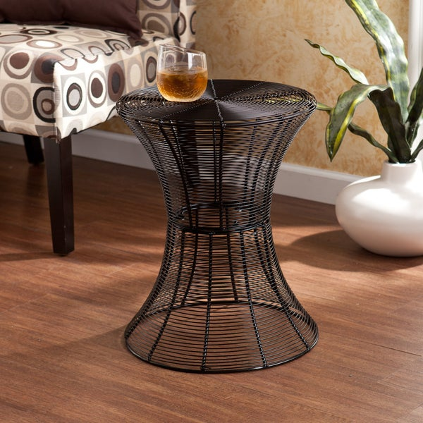 Harper Blvd Kayden Indoor/ Outdoor Black Metal Accent Table