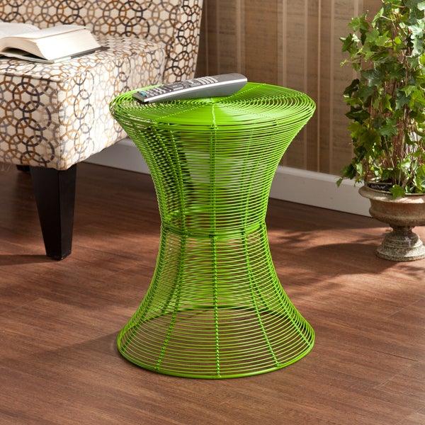 Harper Blvd Kayden Indoor/ Outdoor Green Metal Accent Table