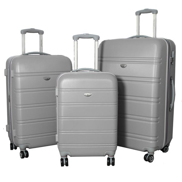 American Getaway 3-piece Lightweight Expandable Hardside Spinner Luggage Set