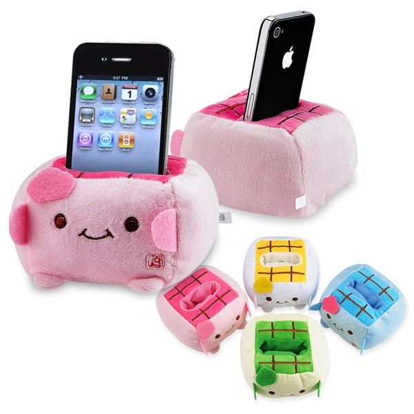 INSTEN Random Color Cartoon Plust Phone Holder for Apple iPhone 5 / 5S / SE