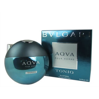 Bvlgari Aqva Toniq Men's's 3.4-ounce Eau de Toilette Spray