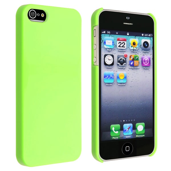 INSTEN Green Ice-cream Snap-on Phone Case Cover for Apple iPhone 5