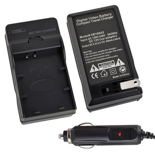 INSTEN Compact Battery Charger for Nikon EN-EL20