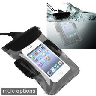 INSTEN Clear Black Waterproof Bag