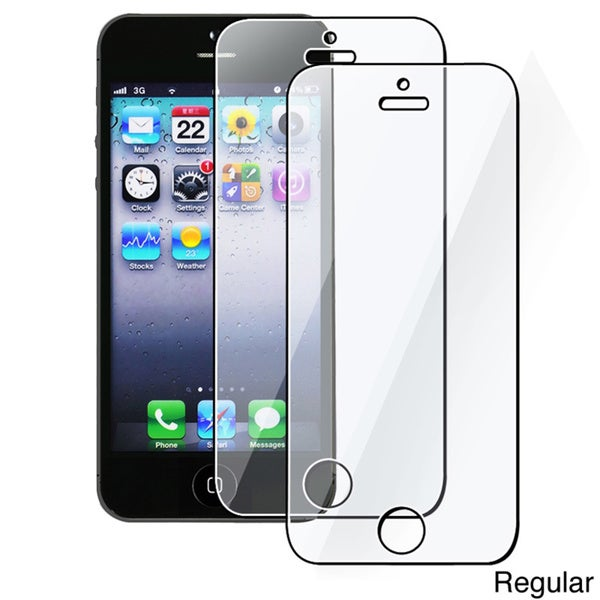 INSTEN Screen Protector for Apple iPhone 5/ 5S/ 5C/ SE (Pack of 2)