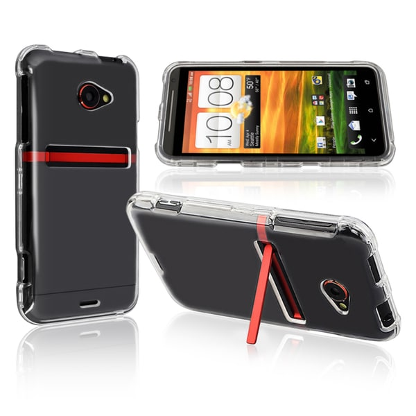 INSTEN Snap-on Crystal Phone Case Cover for HTC EVO 4G LTE