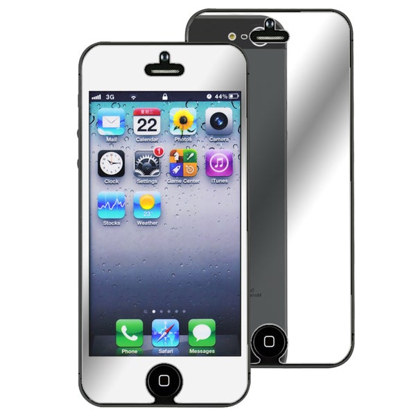INSTEN Mirror Screen Protector for Apple iPhone 5/ 5S/ 5C/ SE