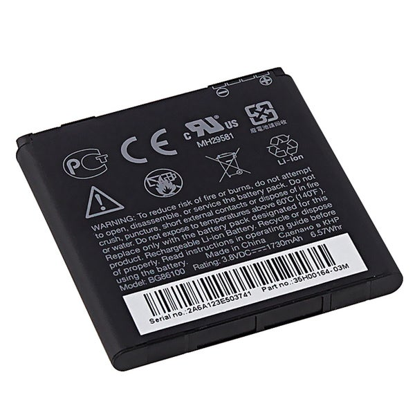 HTC EVO 3D OEM Standard Battery BG86100/ 35H00166