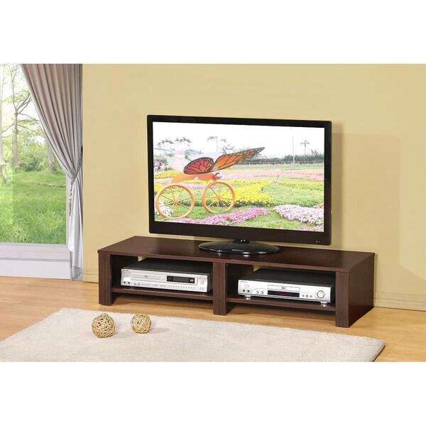 Espresso 47-inch Plasma TV Stand Media Console