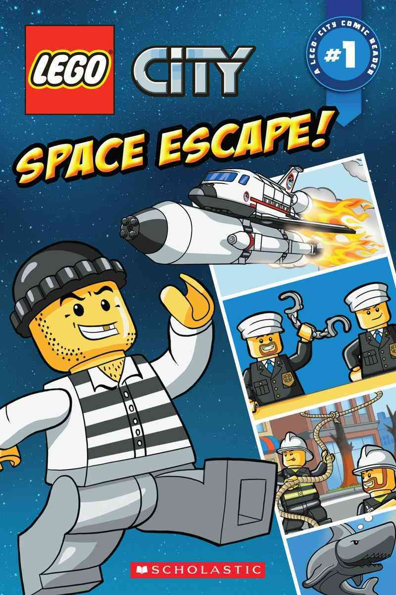 Lego City 1: Space Escape! (Paperback) - Thumbnail 0