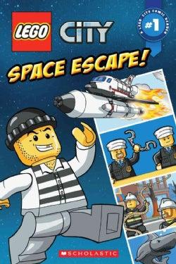 Lego City 1: Space Escape! (Paperback)
