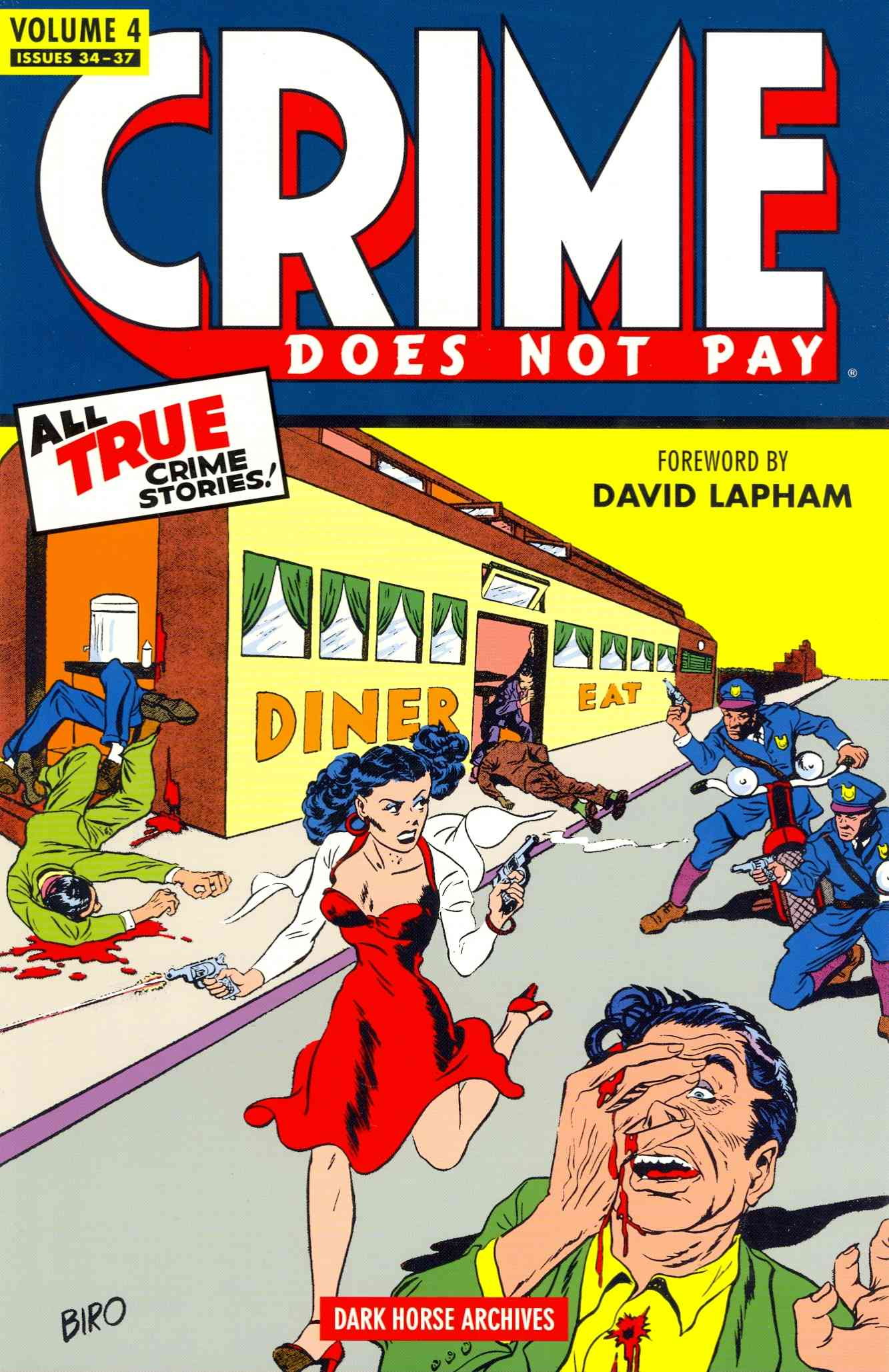 Crime Does Not Pay Archives 4 (Hardcover) - Thumbnail 0