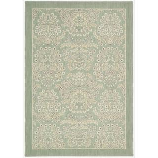 Barclay Butera Hinsdale Celery Area Rug by Nourison (5'3 x 7'5)