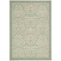 Barclay Butera Hinsdale Celery Area Rug by Nourison - 5'3 x 7'5