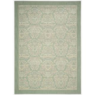 Barclay Butera Hinsdale Celery Area Rug by Nourison (9'6 x 13')