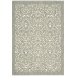 Barclay Butera Hinsdale Feather Area Rug by Nourison (3'6 x 5'6)