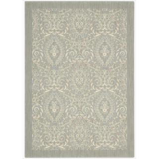 Barclay Butera Hinsdale Feather Area Rug by Nourison (5'3 x 7'5)