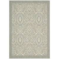 Barclay Butera Hinsdale Feather Area Rug by Nourison (5'3 x 7'5) - 5'3 x 7'5