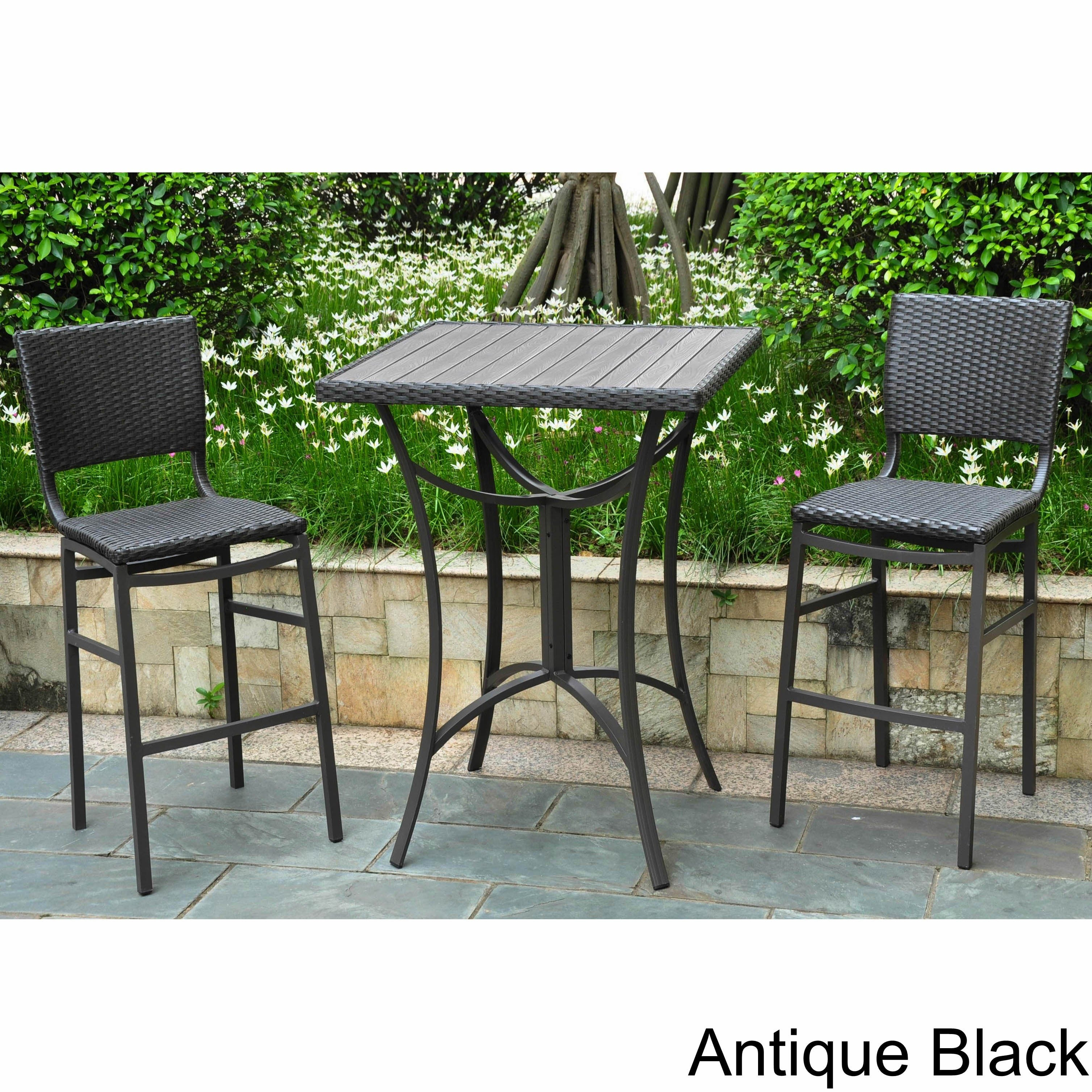 Black Wicker Patio Furniture Find Great Outdoor Seating Dining Deals Ping At