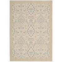 """Barclay Butera Hinsdale Lily Area Rug by Nourison - 5'3"""" x 7'5"""""""
