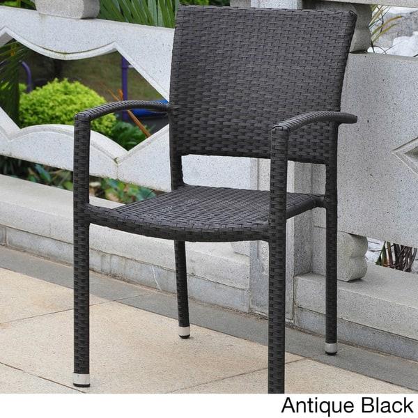 Excellent Shop International Caravan Barcelona Resin Wicker Aluminum Ncnpc Chair Design For Home Ncnpcorg