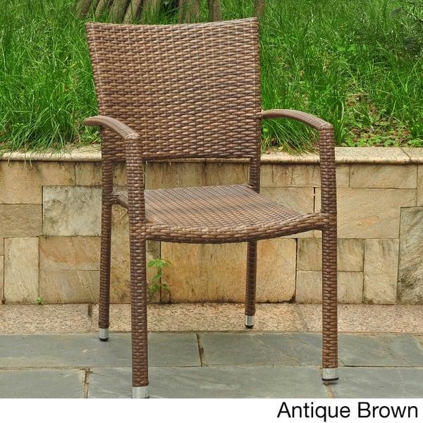 Outstanding Shop International Caravan Barcelona Resin Wicker Aluminum Ncnpc Chair Design For Home Ncnpcorg