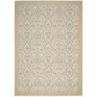 Barclay Butera Hinsdale Lily Area Rug by Nourison - 7'9 x 10'10