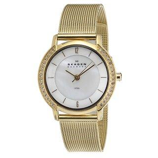 Skagen Women's Goldtone Stainless Steel Mesh Watch