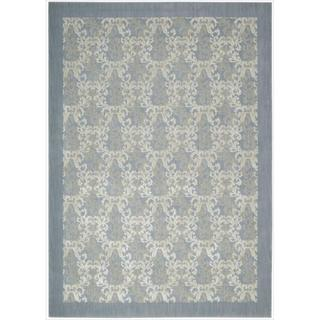 Barclay Butera Hinsdale Sky Blue Area Rug by Nourison (3'6 x 5'6)