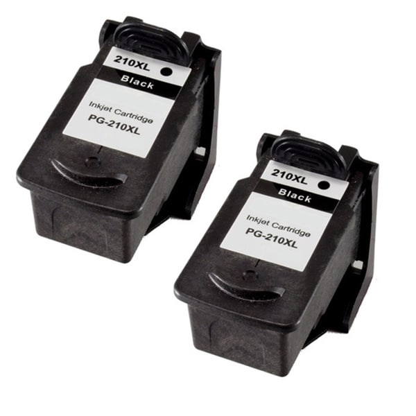 Canon PG210XL High Capacity Compatible Black/ Color Ink Cartridge (Pack of 2)(Remanufactured)