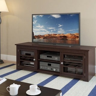 Sonax West Lake Wood Dark Espresso 60-inch Entertainment Center
