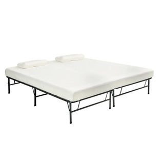 Pragma Quad-fold Queen Frame with Memory Foam Mattress|https://ak1.ostkcdn.com/images/products/7324577/P14792366.jpg?_ostk_perf_=percv&impolicy=medium