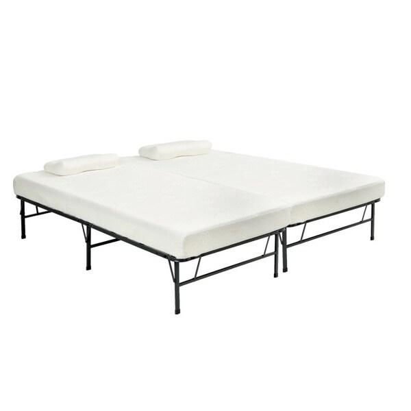Shop Pragma Bi Fold Full Size Bed With Memory Foam
