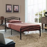 Modway Townhouse Iron Twin Bed Frame