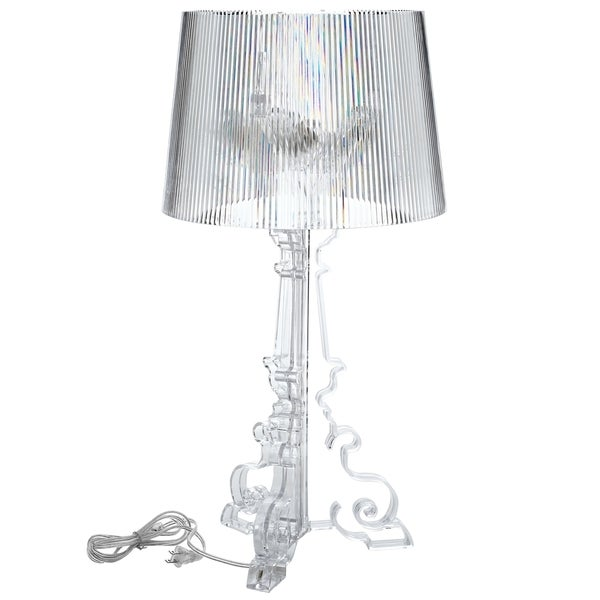 French grand acrylic clear table lamp free shipping today french grand acrylic clear table lamp mozeypictures Gallery