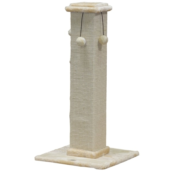 Go Pet Club 35-Inch High Scratching Post