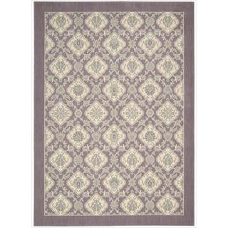 Barclay Butera Hinsdale Violet Area Rug by Nourison (3'6 x 5'6)