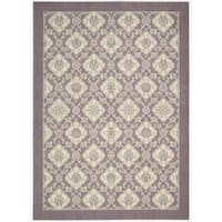 Barclay Butera Hinsdale Violet Area Rug by Nourison (7'9 x 10'10)