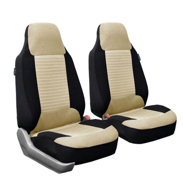 FH Group Pair Bucket Seat Covers Airbag Compatible