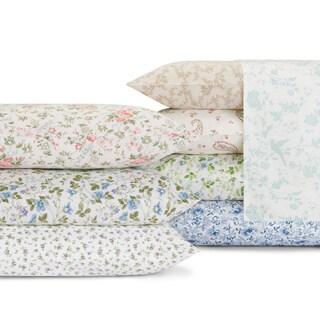 Laura Ashley 300 Thread Count Cotton Sheet Set