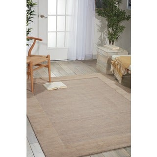 Barclay Butera Ripple Tranquil Area Rug by Nourison (3'6 x 5'6)
