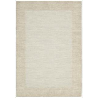 Barclay Butera Ripple Tranquil Area Rug by Nourison (5'6 x 7'5)