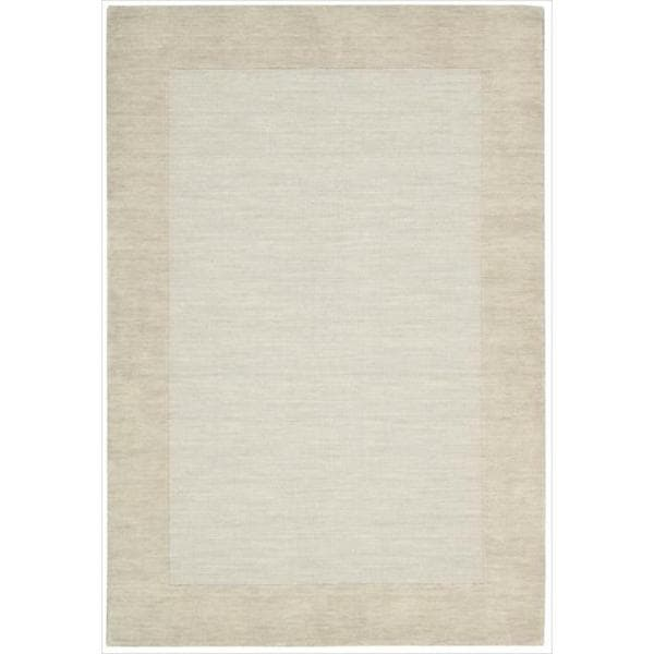 Barclay Butera Ripple Tranquil Area Rug by Nourison (5'6 x 7'5) - 5'6 x 7'5