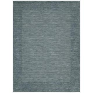 Barclay Butera Ripple Spa Area Rug by Nourison (3'6 x 5'6)