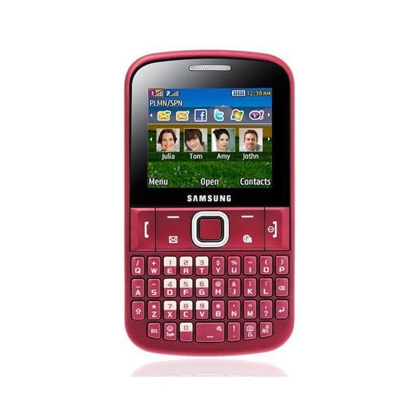 Samsung Ch@t 222 Plus E2222 GSM Unlocked Dual SIM Cell Phone