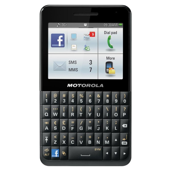 Motorola MOTOKEY Social EX225 GSM Unlocked Cell Phone