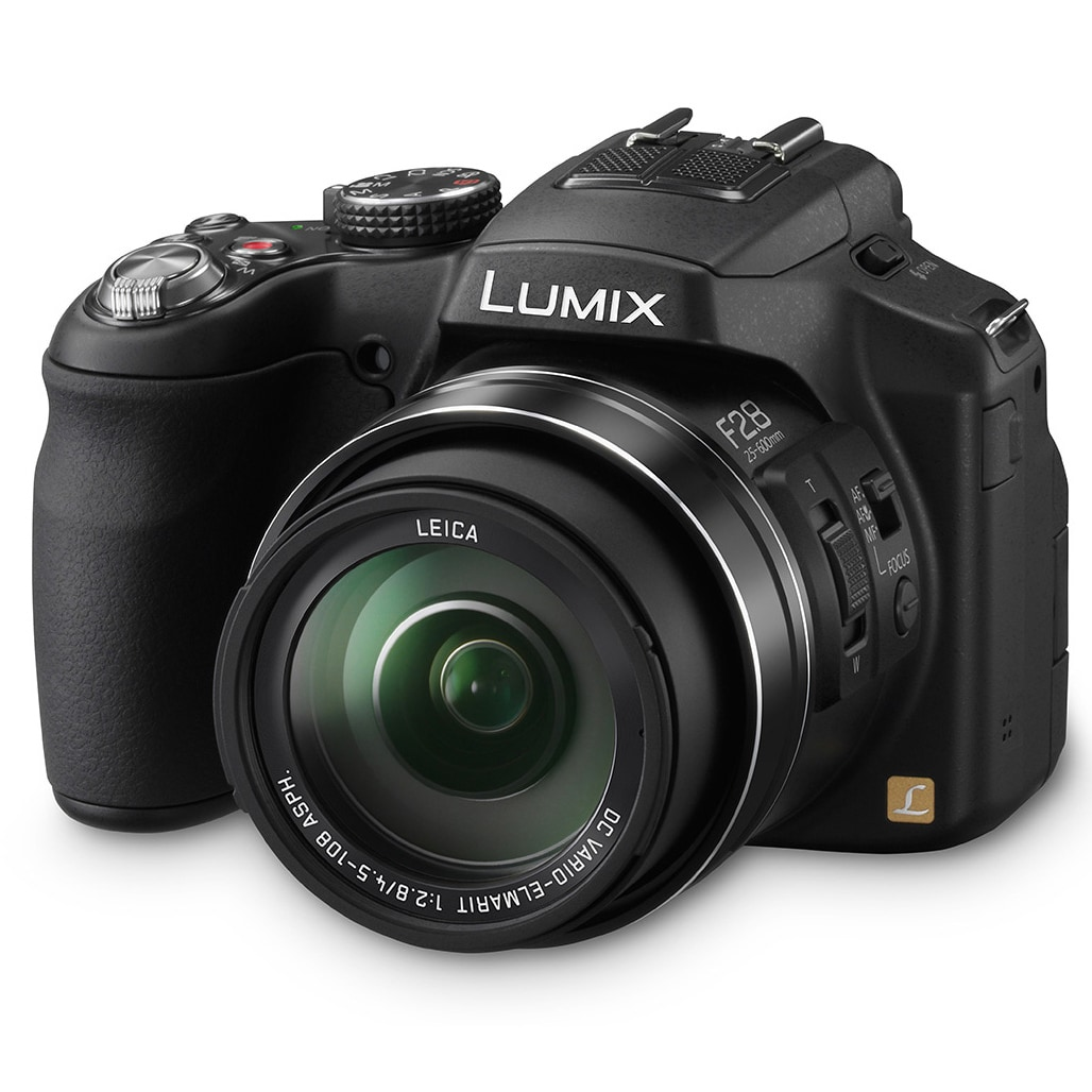 Panasonic Lumix FZ200 12.1MP Black Digital Camera